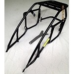Top rack with pannier brackets AND FOOTPEGS for the KTM 250-525 2008 thru 2016